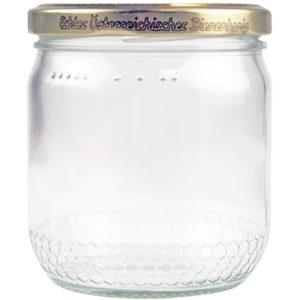 Honigglas mit Schraubdeckel Imkerbund 0,5kg