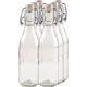 Saftflasche 10-Kantform mit Buegelverschluss 250ml