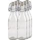 Saftflasche 10-Kantform mit Buegelverschluss 500ml