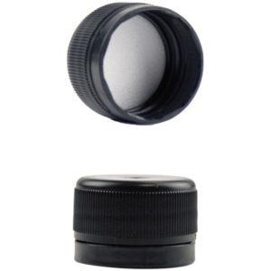 Schraubverschluss Kunststoff Schwarz