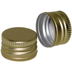 Schraubverschluss Alu - Gold