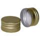 Schraubverschluss Alu - Gold PP 31,5 Muendung