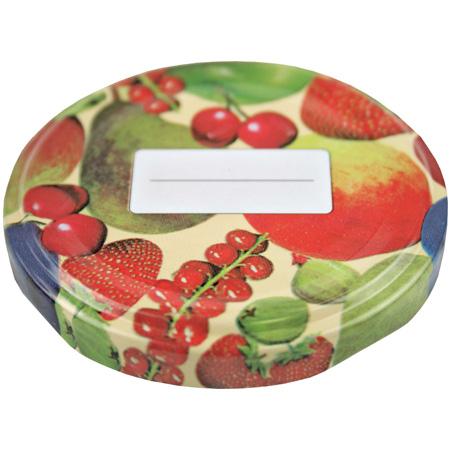 Schraubdeckel Obstdekor 58mm