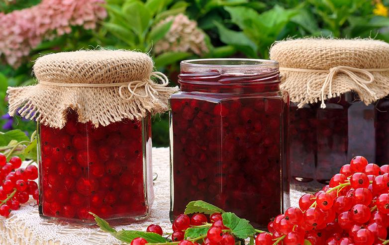 Rote Ribisel Marmelade