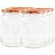 Vorratsglas mit Schraubdeckel Obstdekor - 720ml