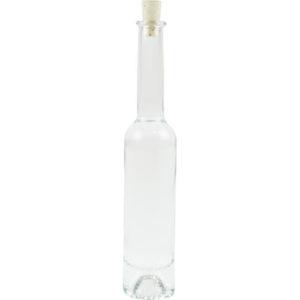 Platin Elegance Flasche mit Spitzkork