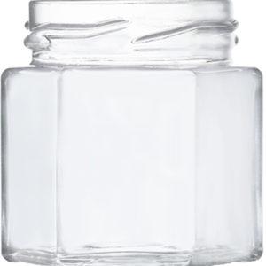 Vorratsglas mini 6-Kantform - 47ml