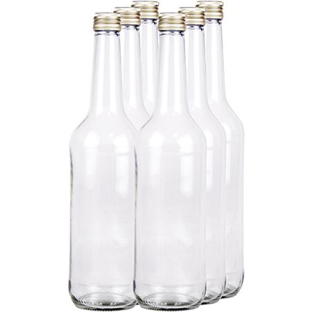 Geradehalsflasche mit Schraubverschluss - 700ml