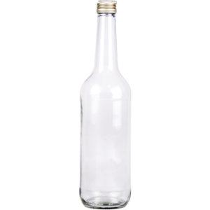 GGeradehalsflasche mit Schraubverschluss - 700ml