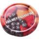 Geleeglas mit Schraubdeckel Obstdekor