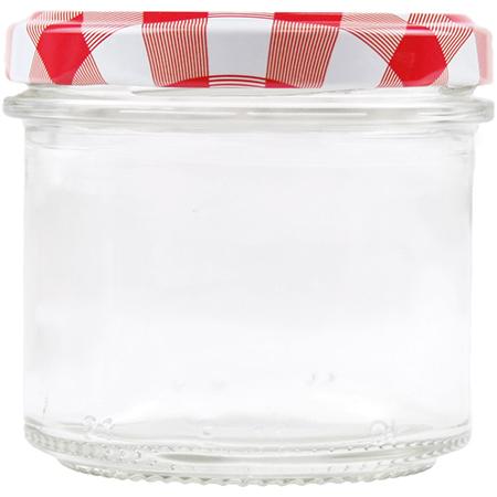 Sturzglas mit Schraubdeckel - 130ml