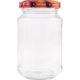 Vorratsglas mit Schraubdeckel Obstdekor - 215ml