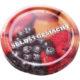 Vorratsglas mit Schraubdeckel Obstdekor