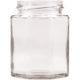 Vorratsglas 8-Kantform mit Schraubdeckel Obstdekor - 190 ml
